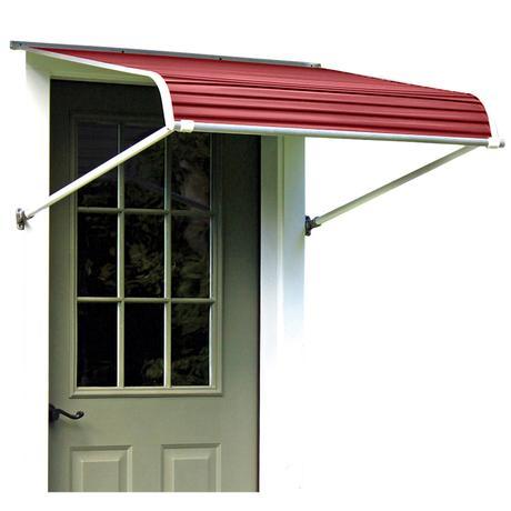 Nuimage Series 1100 Aluminum Door Canopy Aluminum