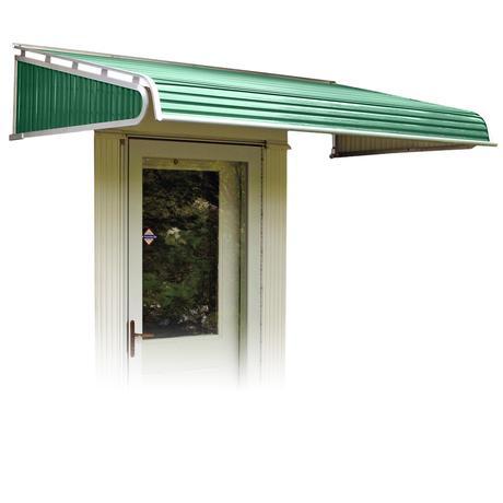 Nuimage Series 1500 Aluminum Door Canopy Aluminum