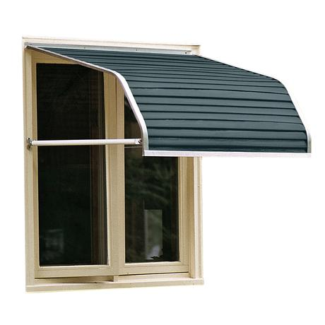 Nuimage Series 4100 Aluminum Window Awning Aluminum