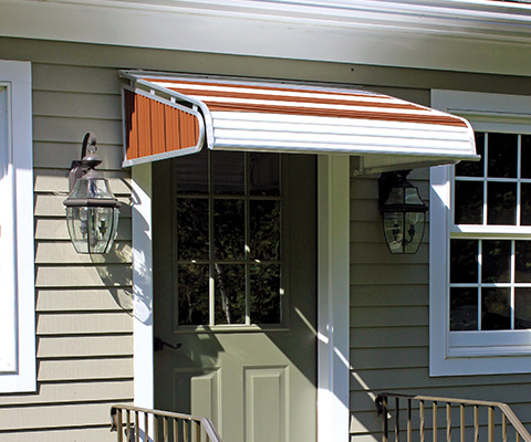 NuImage Awnings Door Canopies Aluminum