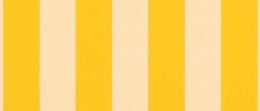 Sunbrella® Beaufort Yellow White 6 Bar  5702