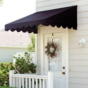 A canopy or awning doesn't have to be a luxury item