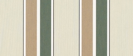 Sunbrella® Fern Heather Beige Block Stripe  4959